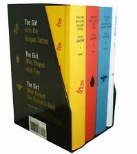 Stieg Larsson The Millennium Trilogy Box Set The Girl With The Dragon Tattoo