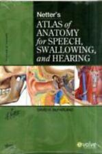 Netter's Atlas of Anatomy for Speech, Swallowing, and Hearing, 1e, McFarland, Da