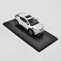 1/43 Scale Toyota C-HR SUV Model Car Diecast Collectable Vehicle Display White
