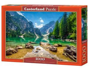 Castorland C-103416 Puzzle Heaven's Lake See Wasser Berge Gebirge 1000 Teile