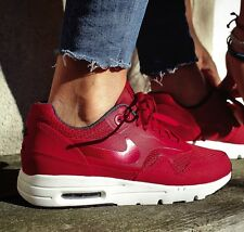 WOMENS NIKE AIR MAX 1 ULTRA ESSENTIALS TRAINERS - UK 4.5, EUR 38 ( 704993 600 )