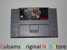 ORIGINAL SUPER NINTENDO SNES STUNT RACE FX GAME WITH 30 DAY GUARANTEE