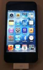 Apple iPod Touch Model A1367 4th Generation USED Black 32 GB Working Great!