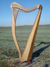 Neue Harfe 36 Saiten mit regulierten Camac Klappen, raumfüllender Klang +Tasche