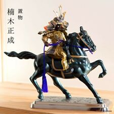 Samurai Daimyo Metal Ornament Takaoka Craft Kusunoki Masashige Made in Japan