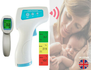 Infrared Thermometer Digital LCD IR Non-contact Contactless Temperature Monitor