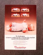 [GCG] N320 - Advertising Pubblicità -1974- BAMBOLE FURGA , AMBROGINA