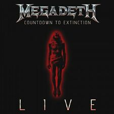 MEGADETH COUNTDOWN TO EXTINCTION LIVE CD+DVD DELUXE EDITION NUOVO SIGILLATO !!