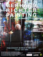 Affiche 120x160cm GERHARD RICHTER - PAINTING (2012) Belz - documentaire NEUVE