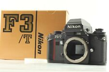 【Unused in Box S/N 852xxxx】 Nikon F3/T F3T Black 35mm SLR Film Camera Body Japan