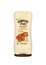 HAWAIIAN TROPIC Lotion Solaire SPF 15 satin protection Ultra rayonnement 100ml