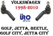 98-10 VW VOLKSWAGEN Beetle Golf Jetta Steering Left & Right Tie Rod End SET URO