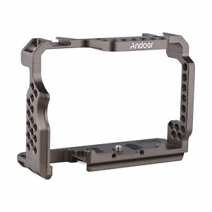 """Andoer Solid Aluminum Alloy Camera Cage Video Rig with Video Rig & 1/4"""" Z3C7"""