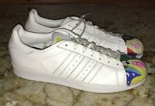 NEW Mens 11 ADIDAS White Todd James Supershell Superstar Pharrell Shoes Sneakers
