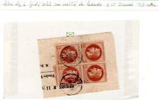 161017)..N°26 BLOC DE 4....RETOUR EXPERTISE CALVES