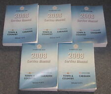 2008 Dodge Caravan Chrysler Town & Country Service Manual Set