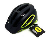 Cannondale Hunter Mips Cycling Helmet, Matte Black/Neon Volt Yellow, S/M,54-58cm