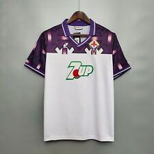 Maglia Calcio Vintage Football Shirt Fiorentina Jersey Away 1992/93
