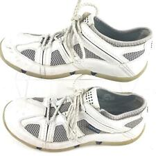 Sperry Top Sider Sailing White Leather White Mens Size 10.5 M.