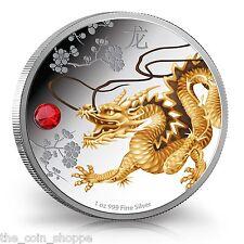2015 1 oz Silver Coin - Feng Shui Series - Dragon - NZ Mint - Niue