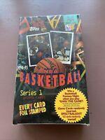 1994-95 Topps Series 1 Hobby Basketball Box 36 Factory Sealed Packs