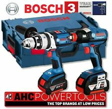 Bosch Gsb 18ve-2li & GDX 18v-ec 18V inalámbrico Combi Taladro Y Impacto Conductor