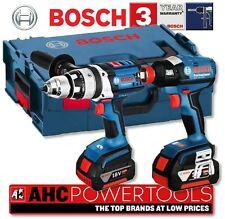 Bosch gsb 18VE-2Li & GDX 18V-EC 18V sans fil combi drill et impact driver
