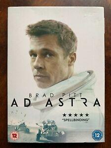 Ad Astra DVD 2019 Brad Pitt Sci-Fi Movie with Slipcover
