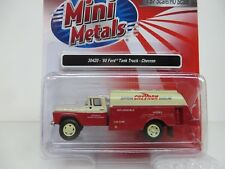 Mini Metals (HO-Scale) '60 Ford CHEVRON Tank Truck (30420) NIB