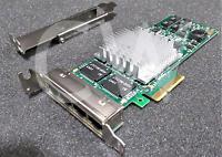 INTEL EXPI9404PTLBLK PRO/1000 PT QUAD PORT GIGABIT ETHERNET PCI-E SERVER ADAPTER