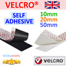VELCRO® SELF ADHESIVE TAPE Hook and Loop Double-Sided Stick On Fastener Strips