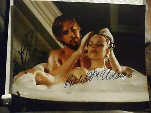 Rachel McAdams Ryan Gosling The Notebook Signed 8x10 - Autographed Photo COA