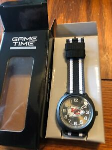 Men's Black watch NFL GAME TIME ICE KANSAS CITY CHIEFS   Watch new in box