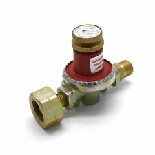 Irish Market 8kgh 0.5 to 4bar Propane Gas Regulator  21.8 LH to 3/8 LH Male ROI
