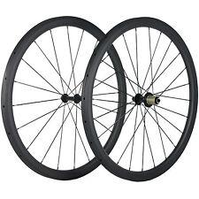 38mm Tubular Carbon Wheels R13 Carbon Road Wheelset 23mm Width Basalt Brake Line