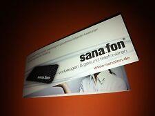 2 Fostac/Sana.fon Chip harmonisiert Elektrosmog von Handys, Lap-Tops, Baby......