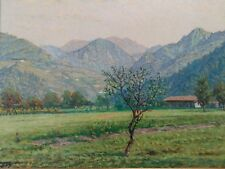 EDOARDO TOGNI  (Brescia 1884 - 1962) 68 x 70 cm  - olio/tela cerata - PRIMAVERA