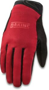 Dakine Syncline Cycling Bike Gloves, Men's Large, Deep Red New 2021