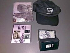 NEW BEYONCE JAY-Z OTR II WORLD TOUR VIP Swag ON THE RUN 2 Hat Pins Speaker Flag
