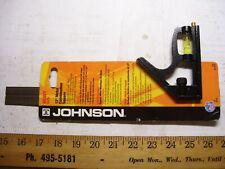 """JOHNSON""- 12"" Metal Combination Square #400"