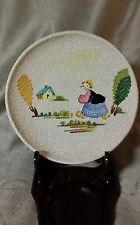 Schöne VTG CE. AG. Albisola Handbemalt Keramik Schale Made in Italy