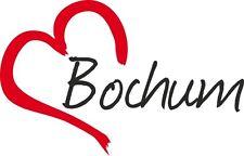 "AUTO Adesivo ""Bochum"" Sticker Città Germania circa 9x14cm konturgesch."