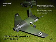BMW Schnelljägerprojekt II (V-tail)    1/72 Bird Models Resinbausatz / resin kit