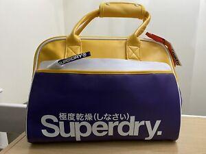 Superdry Tennis Tote Bag - Heliotrope Purple BNWT - TT12