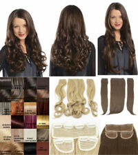 Curly Hair Adult Straight Hair Extensions