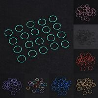 40PCS New Surgical Steel Nose Hoop Ring Studs Earring Body Piercing Jewelry Hot