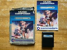 COMMODORE 64 (C64) - MUSIC COMPOSER (BY COMMODORE) - CARTRIDGE BOXED