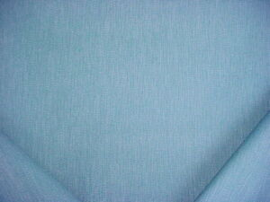 2-1/2Y BARROW MERRIMAC MAINSAIL TURQUOISE BLUE TEXTURED TWEED UPHOLSTERY FABRIC