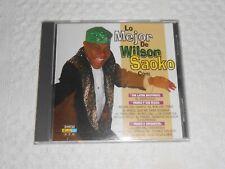 CD - LO MEJOR DE WILSON SAOKO / tested ( 16 tracks )