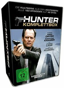 Hunter Season 1-7 The Complete Episodes 42 Gnadenlose Jagd New UK Region 2 DVD